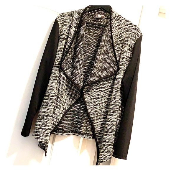 Dress Barn Sweaters - Black and white cardigan